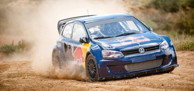 Ce week-end se droule  Barcelone, les X-Games 2013 ! Carlos Sainz tait aujourd&rsquo;hui en prparation pour participer aux X-Games avec une Polo R 4 roues motrices survitamine de 600cv...