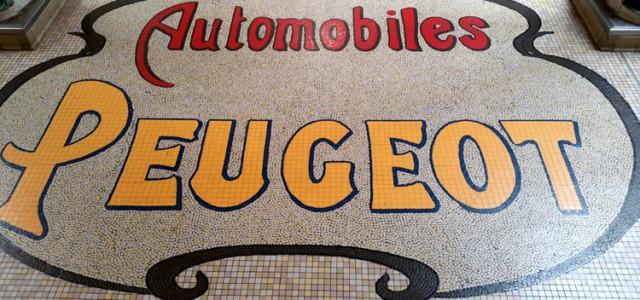Visite du Musée Peugeot PSA à Sochaux.