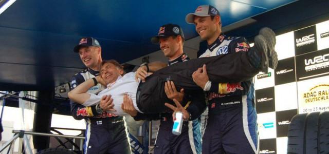 Après le fiasco de 2014, le Team VW remporte avec Sébastien Ogier ce rallye d'Allemagne 2015 qui leur résistait depuis leur arrivée en WRC. C'est même de la plus belle […]