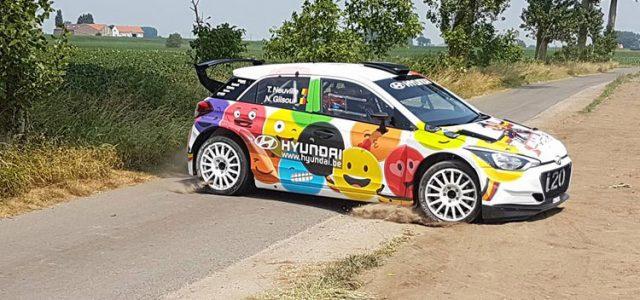 <!-- AddThis Sharing Buttons above -->Comme annoncé en Janvier dernier, Thierry Neuville et Nicolas Gilsoul participent spécialement au Rallye Ypres en Belgique ce week-end avec une Hyundaï i20R5 aux couleurs originales. Imaginée et dessinée par […]