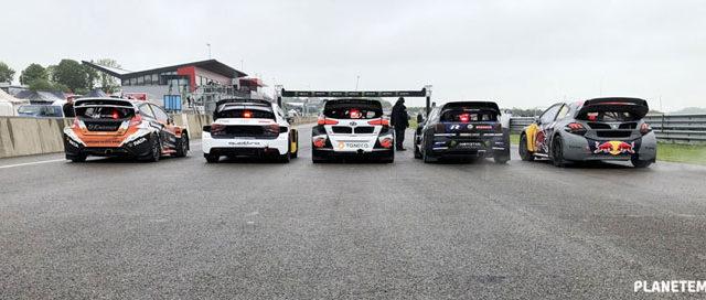 Photos de la troisième manche Championnat du Monde RallycrossRX 2018 (circuit de Mettet en Belgique)