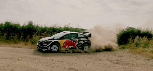 A l'occasion du Goodwood Festival of Speed ce week-end et en partenariat avec RedBull et M-Sport, Elfyn Evans nous présente aujourd'hui son Gymkhana au volant de la Ford Fiesta WRC.