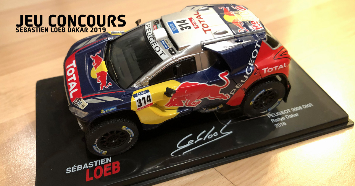 jeu concours s bastien loeb dakar 2019. Black Bedroom Furniture Sets. Home Design Ideas