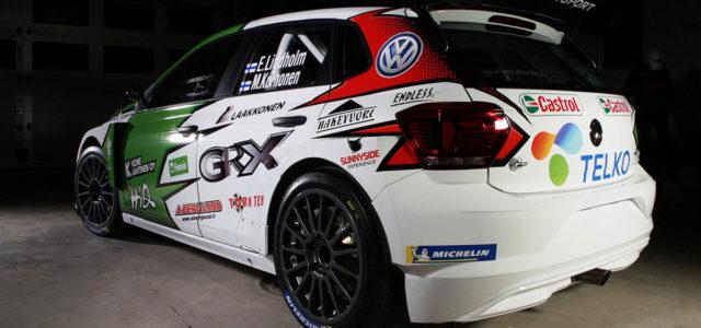 Pour la saison 2019 une VW Polo R5 a été acquise par le GRX Team de Marcus Grönholm. C'est à l'équipage Emil Lindholm et Mikael Korhonen que l'auto sera confiée […]