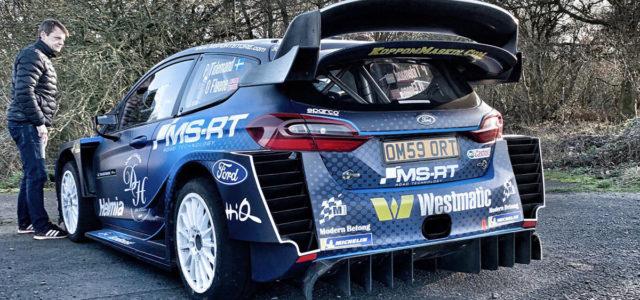 Pontus Tidemand engagé pour l'instant sur deux rallyes avec l'équipe M-Sport Ford officielle a présenté ce soir sa Ford Fiesta WRC 2019 avec laquelle il participe au Rallye WRC Monte […]