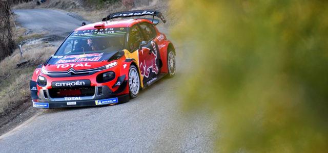 Toute revêtue de ces couleurs officielles Red Bull et son nouvel aileron XXL la C3WRC est de retour sur les routes des essais du Monte Carlo ce mardi avec Sébastien […]
