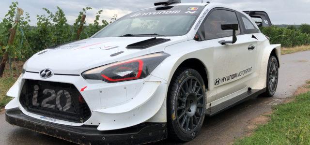 Reportage vidéo des essais de Thierry Neuville pour le WRC Deutschland Rallye 2019 avec la i20WRC