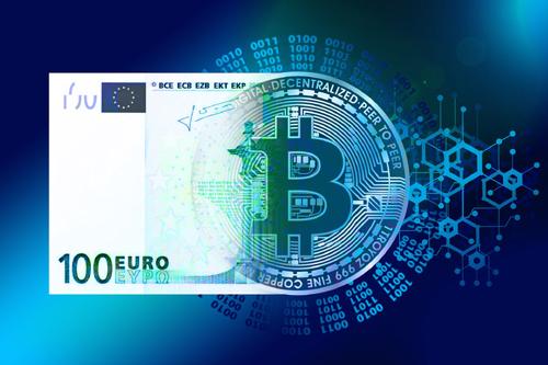 a share of bitcoin