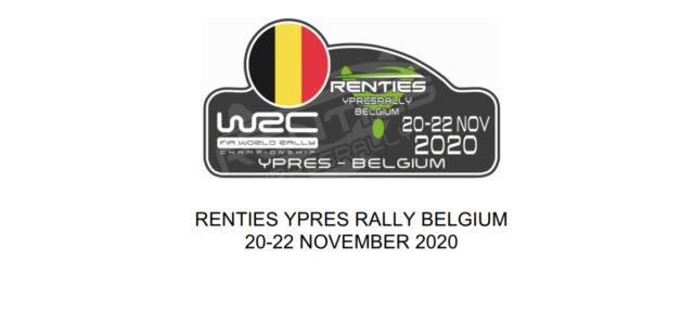 Promu manche mondiale pour clôturer le championnat du 20 au 22 Novembre, le Ypres Rally 2020 a dévoilé son parcours aujourd'hui qui sera constitué de 23 spéciales réparties dans deux […]