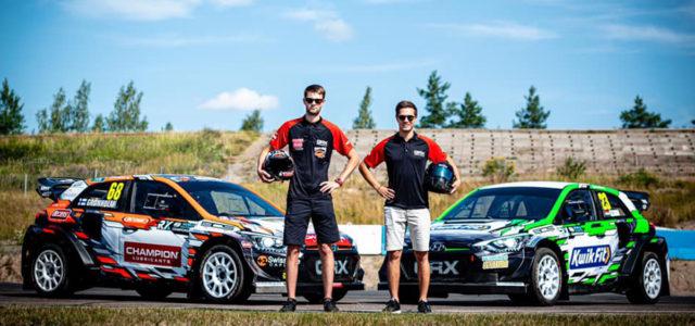 L'équipe privée de Marcus Grönholm qui va évoluer avec deux Hyundai i20RX sur le championnat du monde de rallycross cette saison a présenté cette semaine ces deux autos qui seront […]
